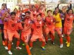 বিরাটনগরে বিরাট সাফল্য, টানা পাঁচবার চ্যাম্পিয়ন হল ভারতীয় মহিলা ফুটবল দল