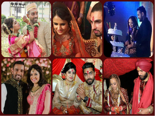 Flashback 2016 Cricketers Who Married This Year