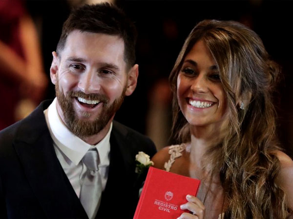 Secret Messi Antonella Is In Social Media