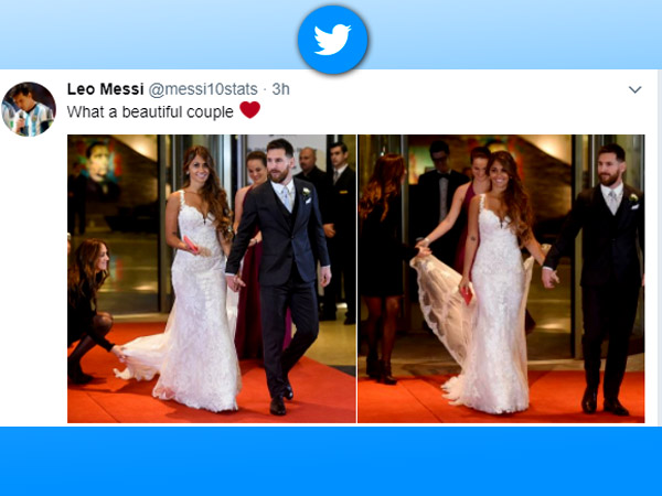 Messi S Gala Wedding As It Happened