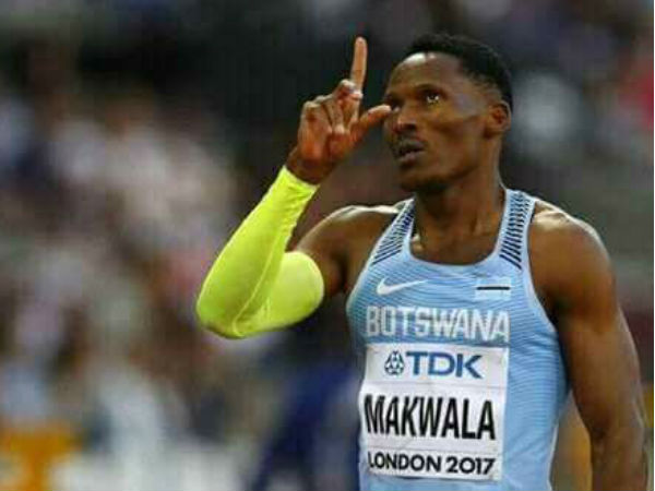 Athlete Makwala Is Barred From Race World Athletics Championship