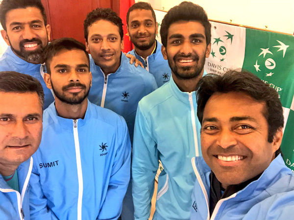 India Win Tie Against China Davis Cup