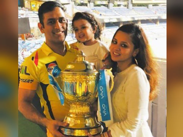 Ms Dhoni Reveals Daughter Ziva S Thought On Ipl Trophy