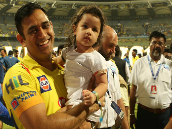 When Csk Teammates Are Receiving Prizes After Final What Their Kids Are Doing Backstage