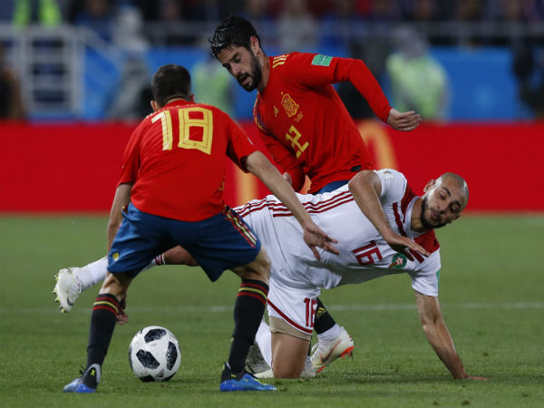 Fifa World Cup 2018 Match Report Spain Vs Morocco