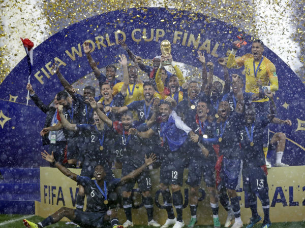 Legendary Footballers Congratulate France After Their Second World Cup Title