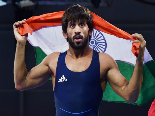 India S Wrestler Bajrang Punia Won Gold Medal Asian Games
