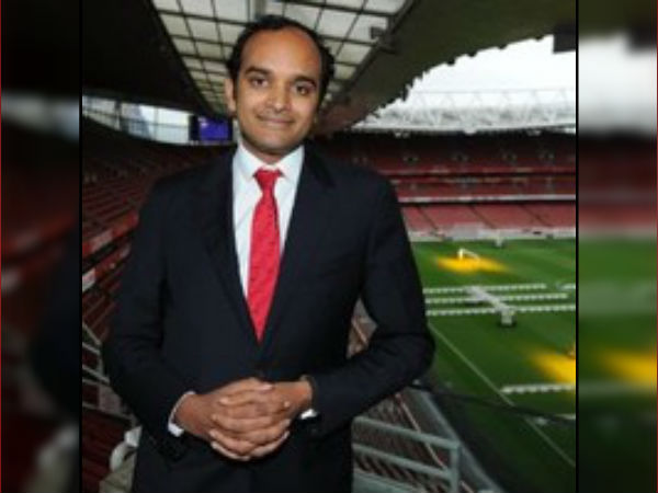 Indian Descendant Vinai Venkatesham Becomes The New Md Arsenal As Gazidis Departs