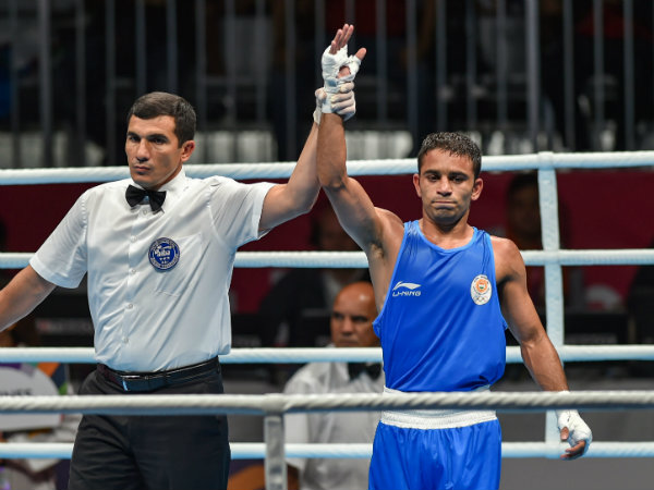 Amit Panghal Wins Gold Men S Light Fly Boxing Event At Asian Games