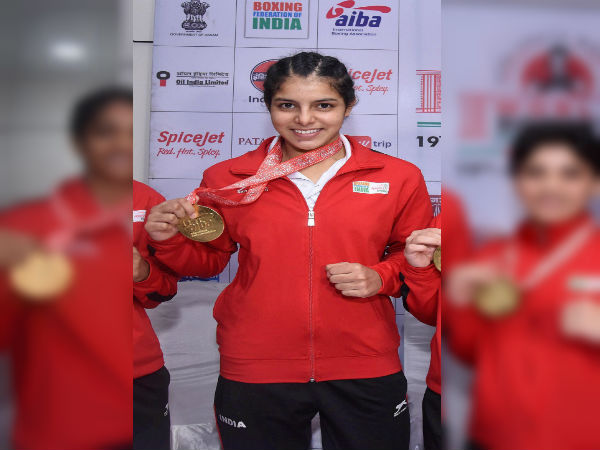 Sakshi India Bagged Gold Medal World Youth Boxing Championship