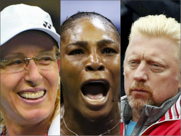 Us Open Controversy Both Becker Navratilova Are Against Serena S Behaviour