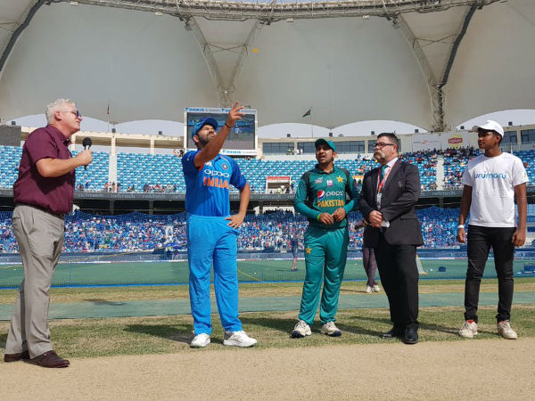 Asia Cup 2018 Ind Vs Pak Pakistan Wins The Toss Elects Bat First