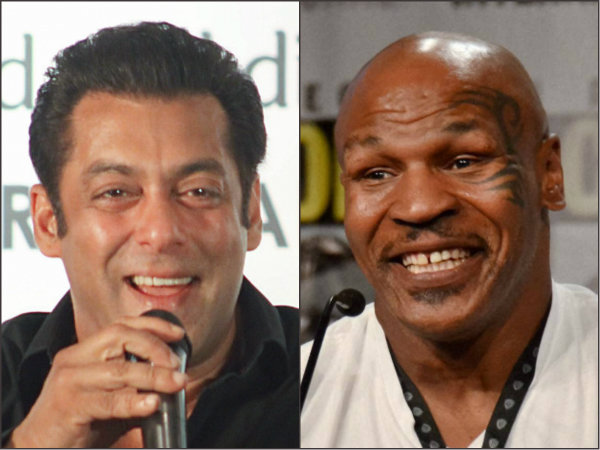 Watch Video Mike Tyson Arrives India Salman Khan Loans His Personal Bodyguard