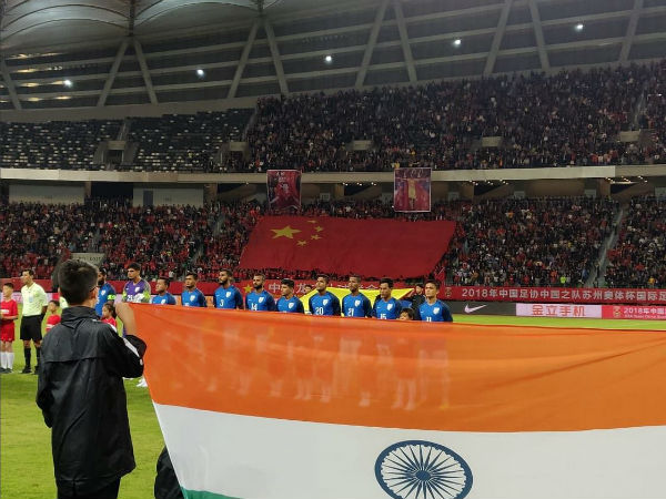 India Vs China Fifa Friendly Match Report China Fail Breach Indian Defence
