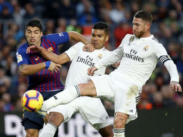 El Clasico Real Madrid Get Humiliated Suarez Nou Camp