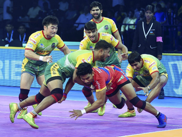 Pkl 2018 Up Yoddha Vs Patna Pirates Match Patna Win 43 41 Against Up