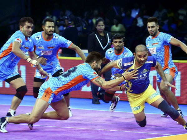 Pkl 2018 Tamil Thalaivas Vs Bengal Warriors Match Thalaivas Suffer 4th Straight Loss