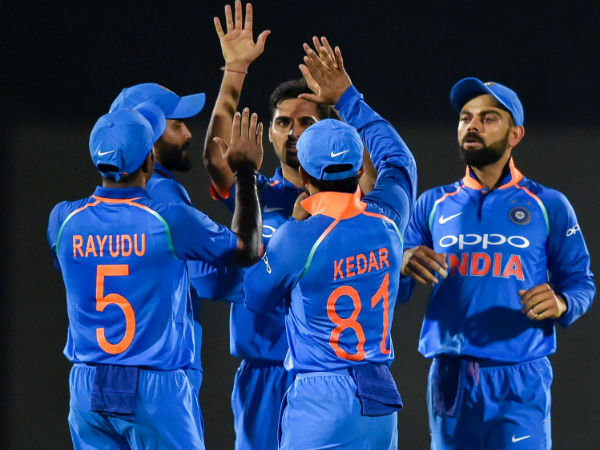 India Vs West Indies 5th Odi Match Report At Innings Break