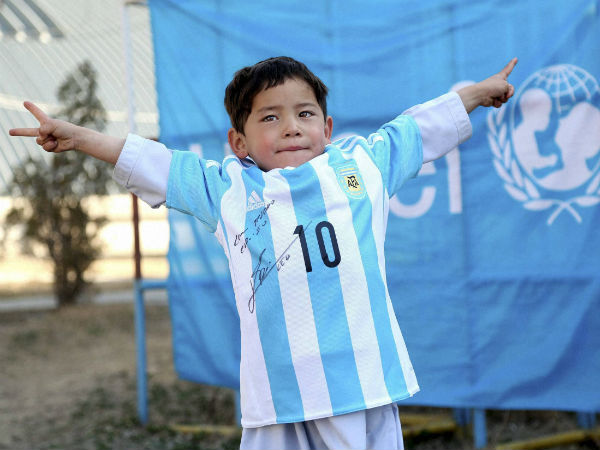 From Dream Nightmare Afghanistan S Little Messi Forced Flee