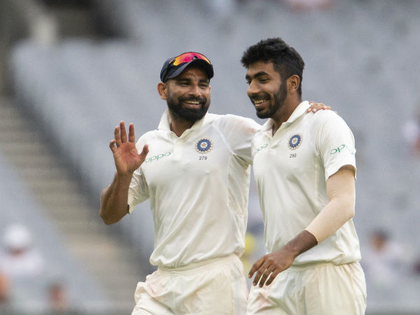 Indian Pace Trio Become Second Highest Wicket Taker Tests A Calender Year