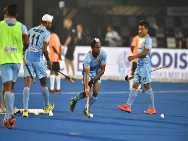 India Enters Into Quarter Final With 5 1 Win Against Canada