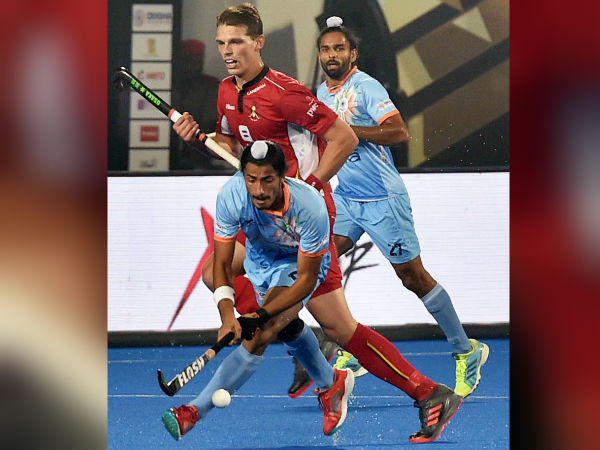Belgium India Match Is Drawn Hockey World Cup