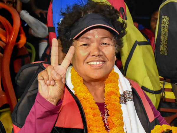 Bachendri Pal The First Indian Woman Climb Mount Everest Gets Padma Bhusan