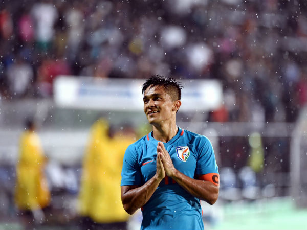 Sunil Chhetri Feels Honoured After Being Conferred With Padma Shri