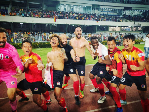 I League 2018 19 Menendez Proves His Credentials Kolkata Derby