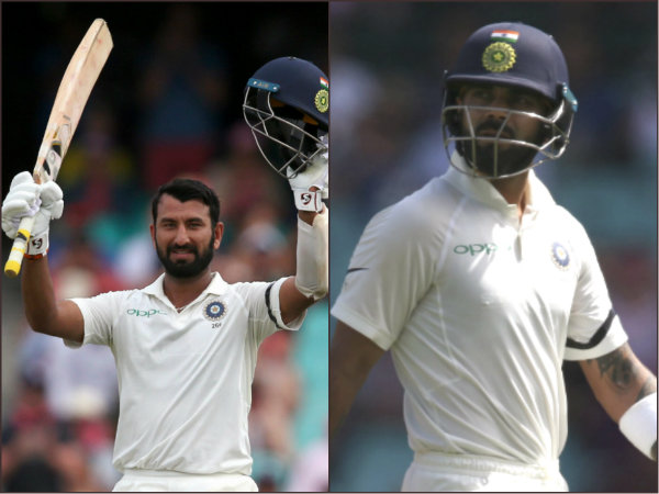 Australia Vs India 4th Test Pujara Gets Standing Ovations In Sydney