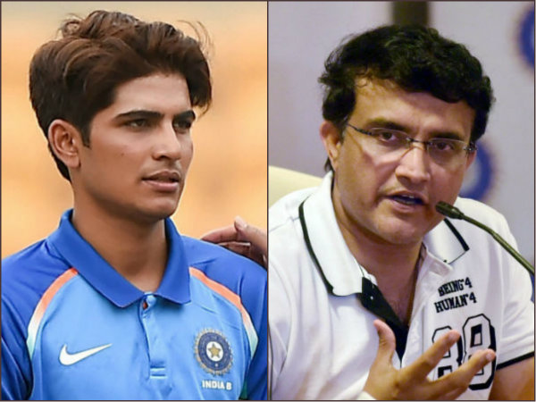 Shubman Gill Could Be Great Asset India The World Cup Sourav Ganguly