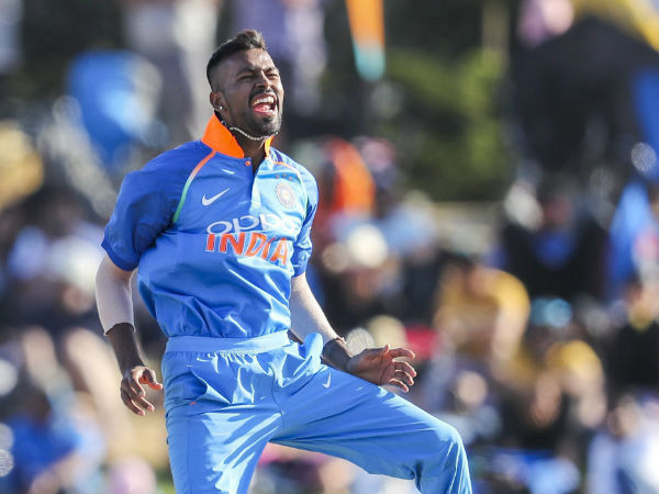 India Vs Australia Hardik Pandya Ruled Of Series Due An Injury