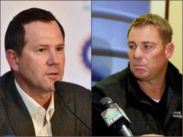 Ipl 2019 Shane Warne Wants Ricky Ponting Be Banned