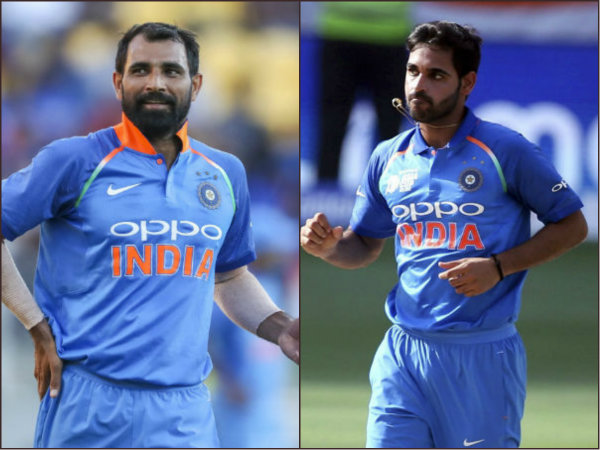 Icc World Cup 2019 Shami Or Bhuvneshwar Who Should Be India S Second Pacer