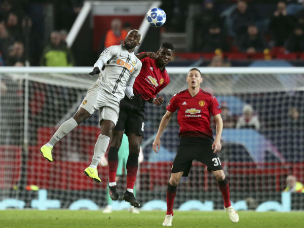 Champions League Pogba Sent Off As Solskjaer Suffers First Loss