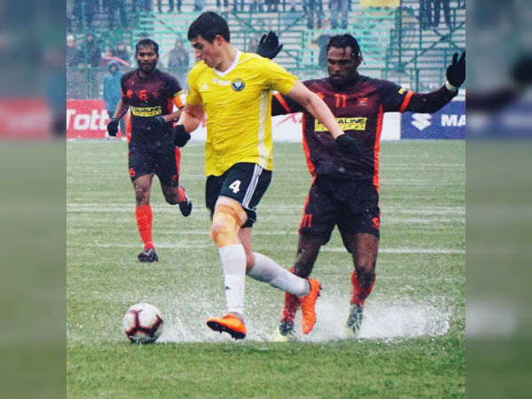 I League 2018 19 Krizo S Goal Displaces Chennai City From Top