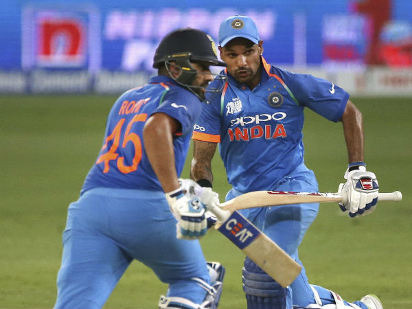 Dhawan Rohit S Make Highest Opening Stands India Against Australia At Mohali Odi