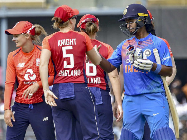 India Versus England Indian Women Suffer Fifth Straight T20i Loss