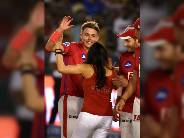 Ipl 2019 Sam Curran Shows Off Bhangra Moves With Preity Zinta Watch Video