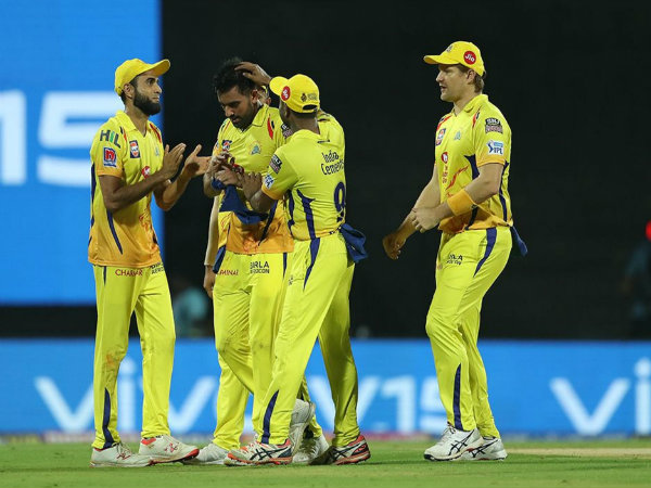 Ipl 2019 Csk Beat Kxip By 22 Runs In Chennai