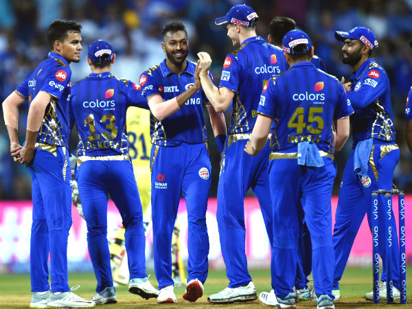 Ipl 2019 Mi Vs Csk Mubai Get Their 100th Win
