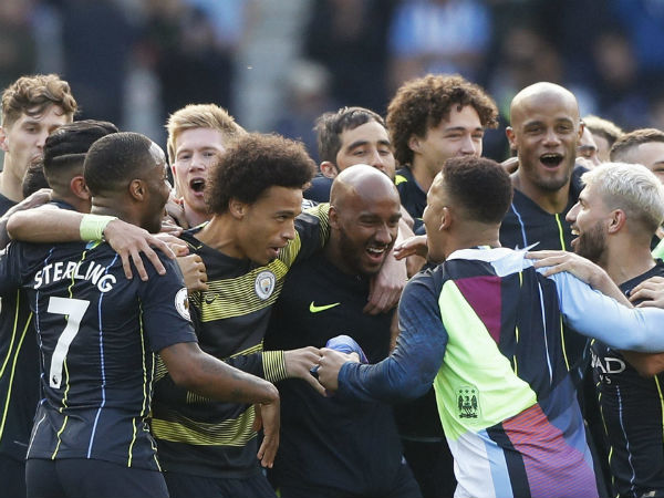 Manchester City Defends English Premier League To Edge Liverpool