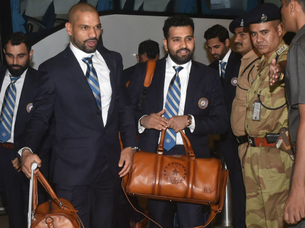 Team India Leaves For England To Play World Cup