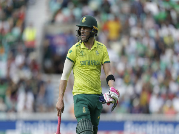 Feeling Five Years Older Says South African Skipper Faf D