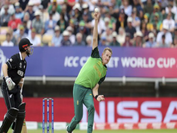 Icc Cwc 2019 New Zealand Beat South Africa By 4 Wickets