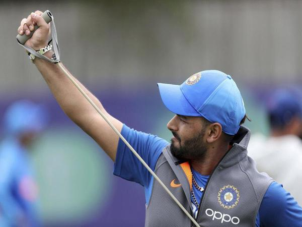 Rishabh Pant May Make World Cup Debut Against Afghanistan