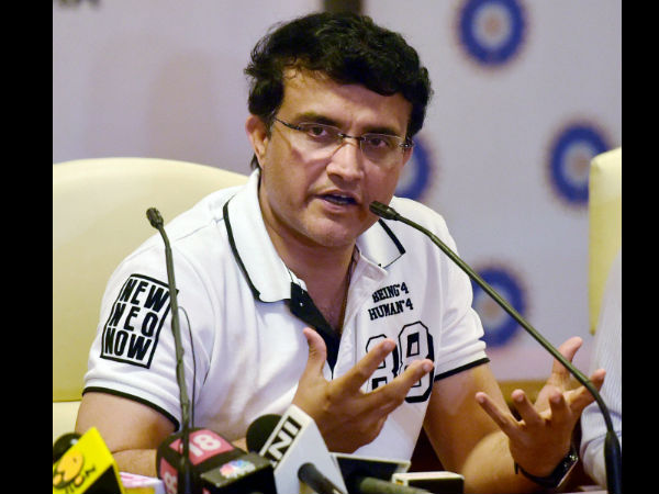 Sourav Ganguly Provides Solution To Stop Rain Washouts In Wo