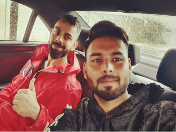 Virat Kohli Chills Out With Rishabh Pant Ahead Of Afghanist