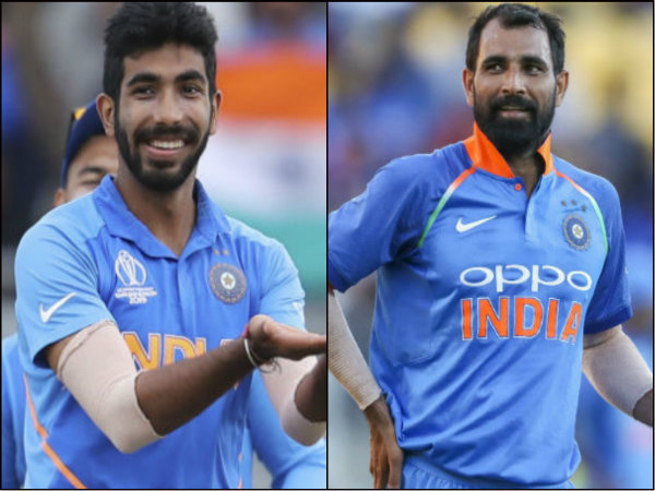 Jasprit Bumrah And Mohammed Shami Partnerdhip Takes 14 Wickets In Cwc