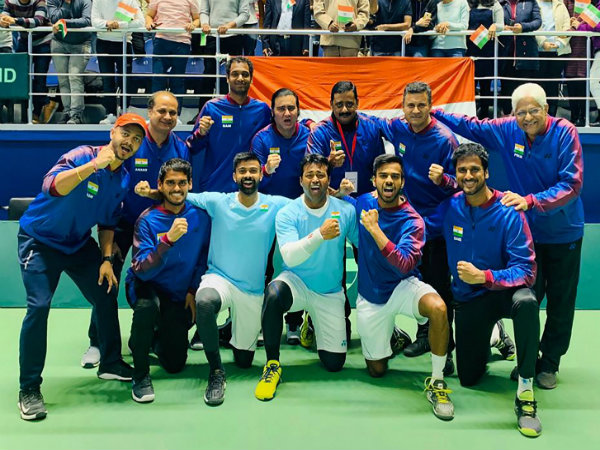 India Beat Pakistan By 4 0 In Davis Cup Tie Will Face Croatia